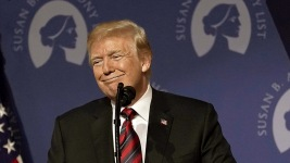 Trump Rallies Abortion Opponents to Vote for Republicans