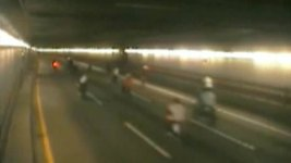 WATCH: Wheelie-Popping Bikers, Some on ATVs, Take Over Boston Tunnel