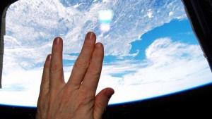Astronaut's Vulcan Tribute to Leonard Nimoy