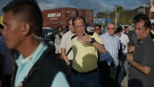 Philippine President to Camp in Typhoon-Battered Tacloban