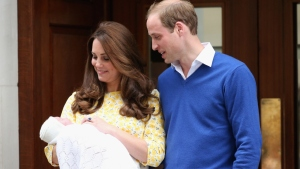 Kate and William Give the World a Peek at Daughter