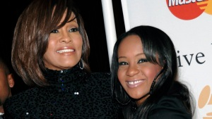 Whitney Houston's Daughter in Induced Coma