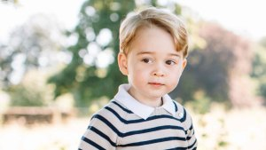 Prince William Says George Spoiled on Birthday