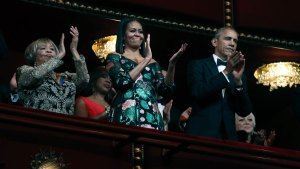 Obamas Celebrated at Their Last Kennedy Center Honors