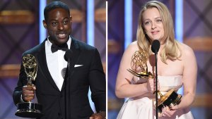 Sterling K. Brown, Elizabeth Moss Win Lead Acting Emmys