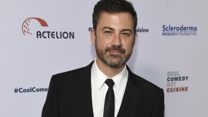 Holding His Son, Jimmy Kimmel Pleads for Health Care Program