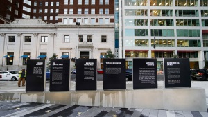 Philly's New Holocaust Memorial Opens Amid Somber Ceremony