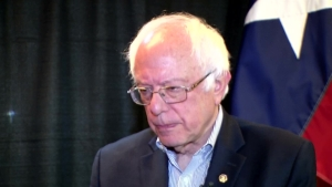 Raw Video: Sen. Bernie Sanders One-on-One