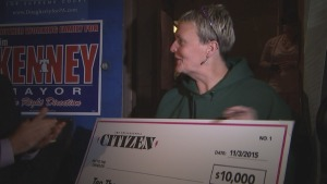 School Crossing Guard Wins $10K After Voting