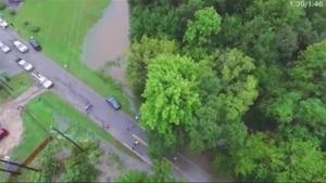 WATCH: Drone Video Shows S.C. Flooding