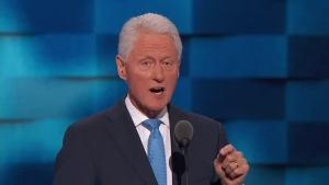 Bill Clinton: 'She'll Never Quit When the Going Gets Tough'