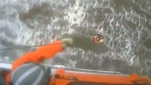 Caught on Cam: Coast Guard Rescues Jet Skier