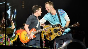 Michael J. Fox, Coldplay Go 'Back to the Future' at Concert
