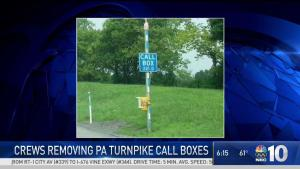 The End of Pennsylvania Turnpike Call Boxes