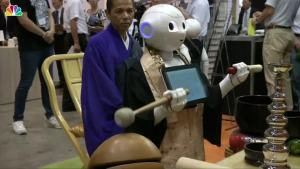 Meet 'Pepper' the Robot Priest