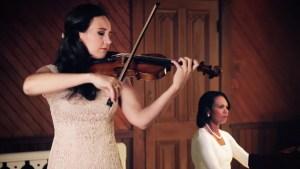 WATCH: Condoleezza Rice, Violinist Perform Duet