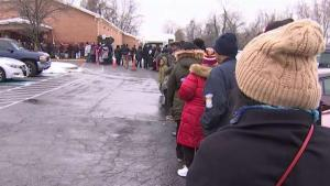 'I Cry Every Day': Federal Workers Line Up for Free Food