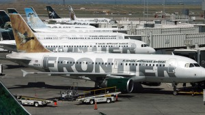 End of 'Frontier' at Local Airport