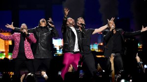 Backstreet Boys Give Surprise Performance