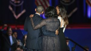 First Lady's Dress at Obama's Farewell Speech: What It Meant