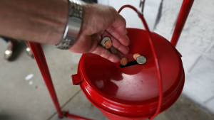Chicago's Salvation Army Looking Into Cashless Kettles