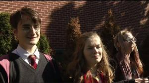 Welcome to Hogwarts! Harry Potter Arrives in Chestnut Hill