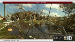 Irma Slams the Carolinas and Georgia