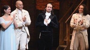Lin-Manuel Miranda Says Goodbye to 'Hamilton'