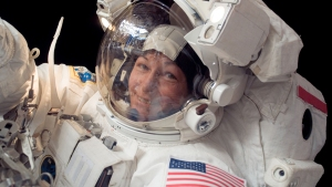Trump Talks NASA Bill With Record Breaking ISS Commander