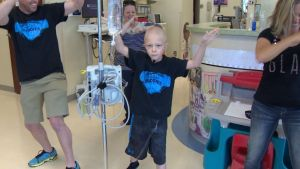 WATCH: Young Boy Dances Through Chemotherapy