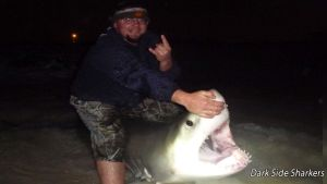 Fisherman Catch Great White in Panama City