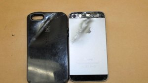 iPhone Stops Bullet During Robbery