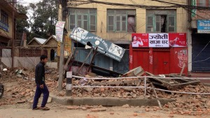 PHOTOS: 7.9M Earthquake Shakes Nepal