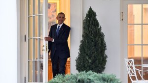Obama¹s Final Moments in the Oval Office