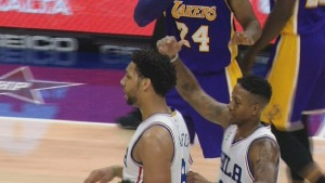 Sixers Earn First Win of the Season During Kobes Final Game in Philly