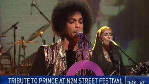 Prince Tribute at Community Festival