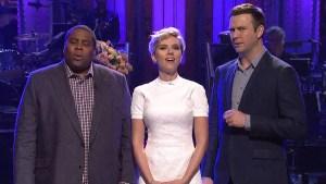 """Scarlett Johansson Hosts """"SNL"""""""