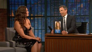 'Late Night': Ashley Graham Remembers Modeling for SkyMall