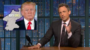 'Late Night': Closer Look at Trump's Clash With North Korea