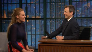 Blake Lively Was Speechless When She Met President Obama