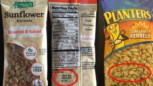 Recall of Sunflower Seeds Expanded