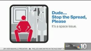 The War on 'Manspreading' Continues