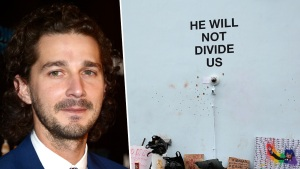 It's Over: LaBeouf Ends Streaming of Anti-Trump Installation