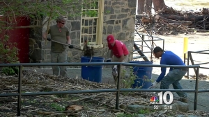 Del. Service Week Ends with River Cleaning