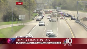 2 Dead in 2-Car Crash on Highway