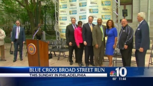 Nutter, Business Leaders Talk Blue Cross Broad Street Run