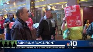 Philly Workers Take Minimum Wage Flight to Capital