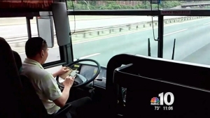 Chinatown Bus Driver Accused of Texting on Turnpike