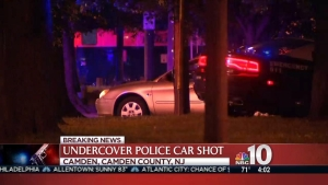 Undercover Officer's Car Shot in Camden