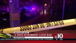 Nicetown Robbery Ends in Gunfire; 2 Dead, 2 Injured